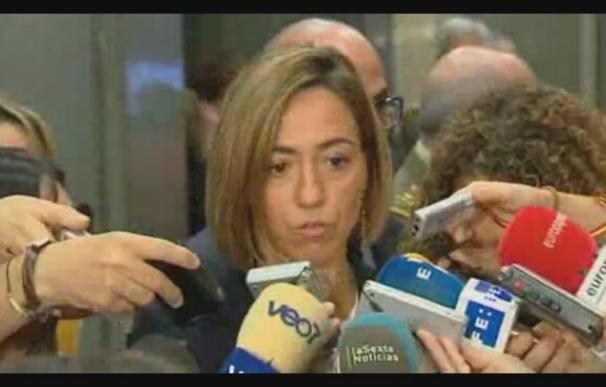 Chacón viaja a Ibiza y envía más militares de la UME