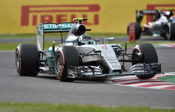 Nico Rosberg (Mercedes), en Suzuka