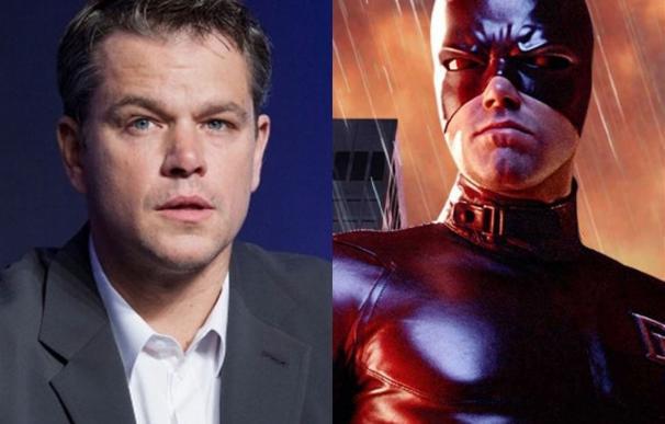 Matt Damon quiere ser Daredevil... si le dirige Christopher Nolan