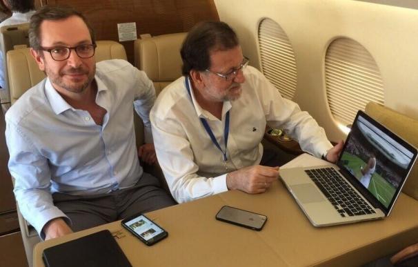 """Rajoy felicita a una """"imponente"""" Muguruza por su histórico triunfo en Wimbledon"""