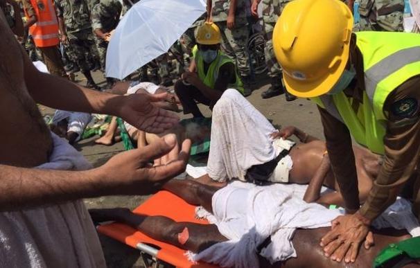 A.Saudí.- El último balance eleva a 769 los muertos de la avalancha en La Meca
