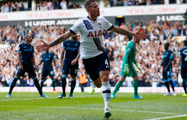 El City cae ante el Tottenham