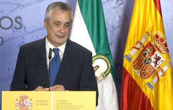 Griñán comienza la remodelación del Gobierno andaluz