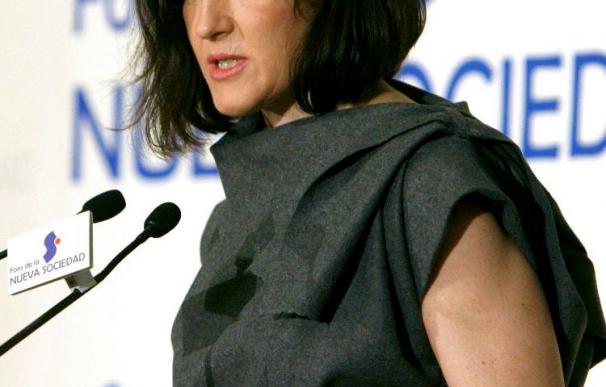 Ángeles González-Sinde es ministra de Cultura desde abril de 2009.