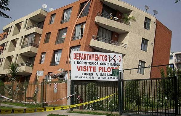 El edificio del condominio Don Tristán (Santiago de Chile), derrumbado tras el terremoto del 27 de febrero de 2010. (Foto: Jorge Barrios)