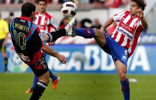 2-1. El Sporting asegura la permanencia