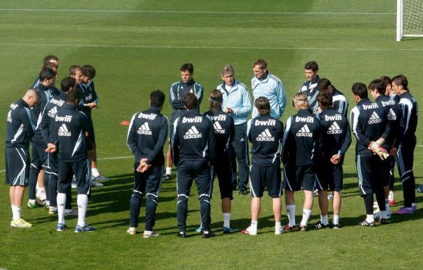 Lass y Marcelo principales ausencias del entrenamiento del Madrid junto a los lesionados