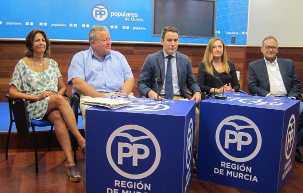 """PP reclama """"unidad política"""" en torno al Pacto Nacional del Agua y pide a PSOE y Podemos que aclaren sus posturas"""