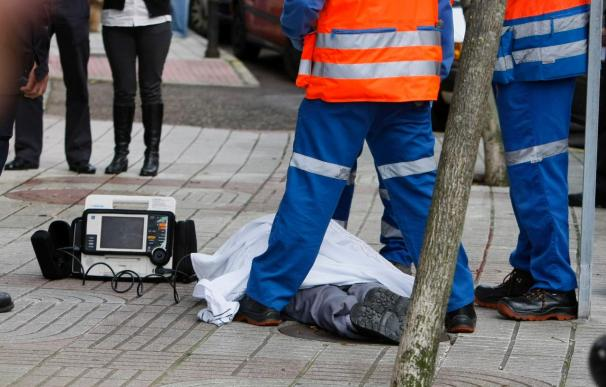 Fallecen dos trabajadores que sufrieron sendos accidentes laborales en Madrid