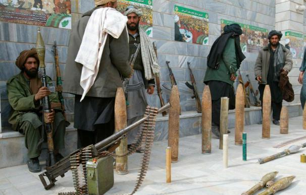 Una delegación insurgente está en Kabul para mantener conversaciones