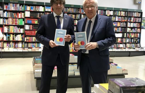 """Puigdemont defiende que el proceso independentista """"no es antiespañol"""""""