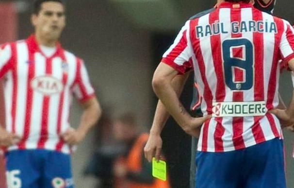 El Atlético, a expulsión por partido en las últimas tres jornadas