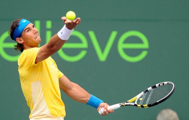 Rafael Nadal vence a David Nalbandian y accede a los octavos del Masters 1000 de Miami