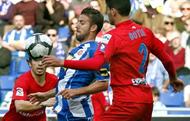 0-0. Empate a nada en Cornellà entre Espanyol y Sporting