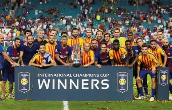 El Barça se hace con el primer clásico de la temporada y vence al Madrid en Miami