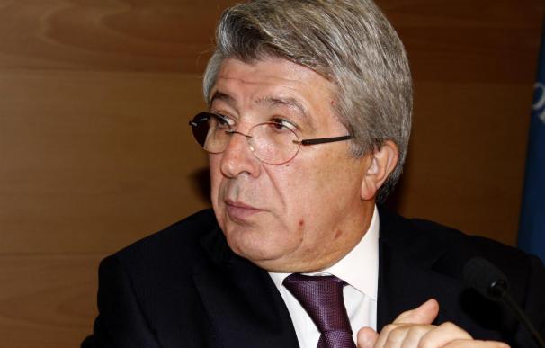 """Enrique Cerezo, tras la reunión con la LFP: """"Es el comienzo de una buena relación"""""""