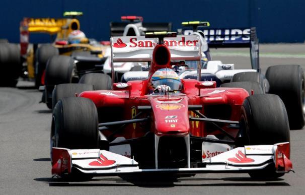 Alonso sube a la octava posición y De la Rosa baja a la duodécima