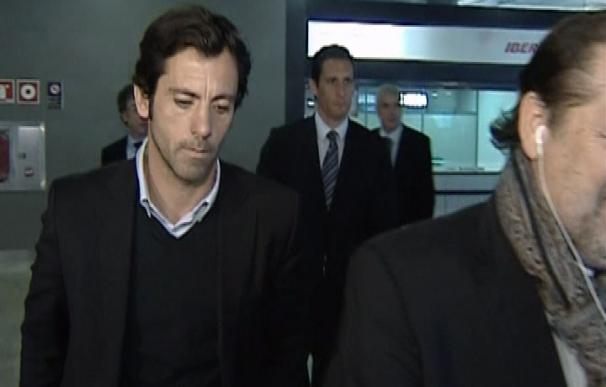 El Atlético de Madrid llega a Valencia