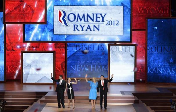 Romney acepta la candidatura republicana a la Casa Blanca y promete empleos