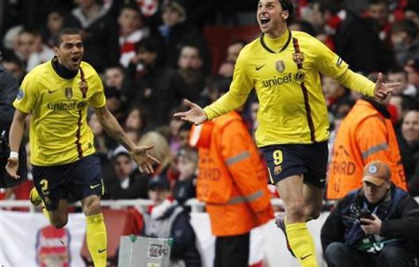 El Arsenal remonta y empata 2-2 con Barça en la Champions