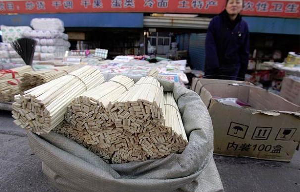 Cada año se talan 25 millones de árboles para fabricar palillos chinos