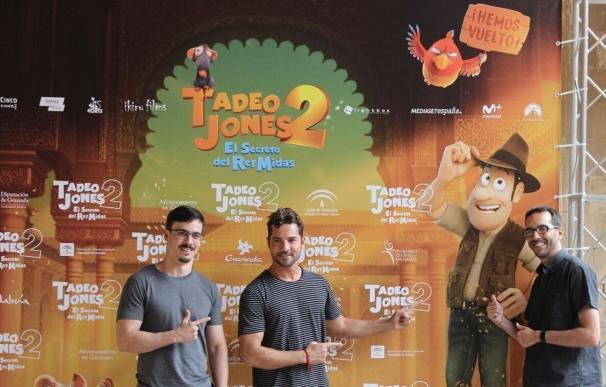 Tadeo Jones 2 y David Bisbal conquistan La Alhambra