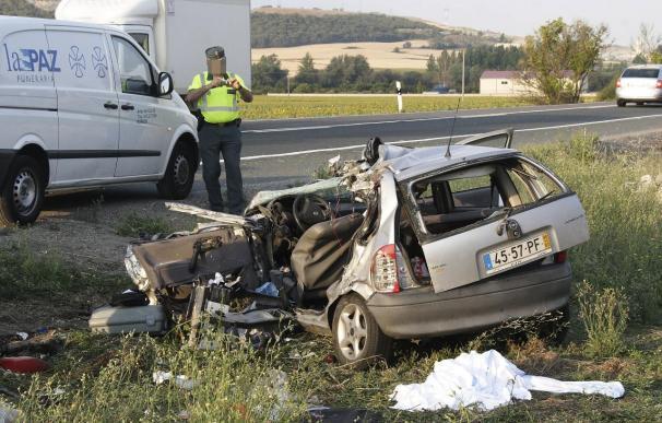 Mueren 8 personas en las carreteras durante el fin de semana