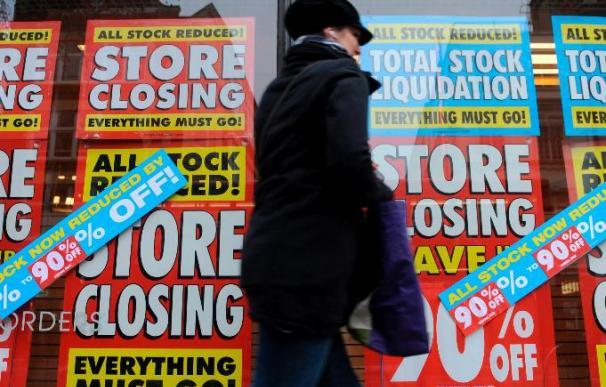 La economía británica creció un 0,3 por ciento en primer trimestre, más de lo previsto
