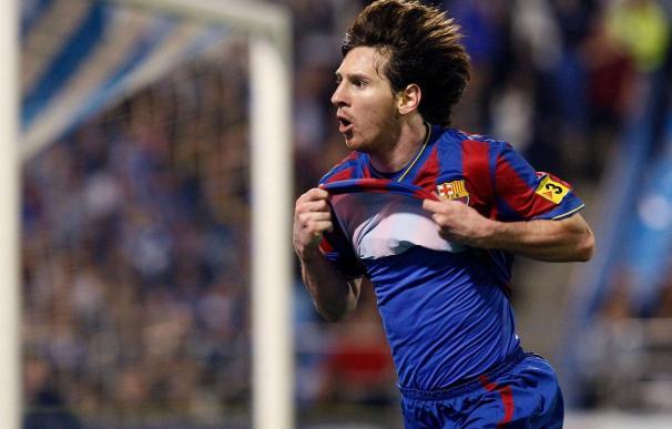 2-4. Messi imparte cátedra en Zaragoza