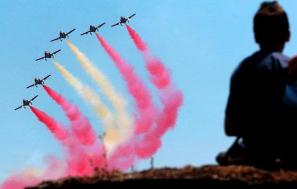 Unas 50.000 personas presencian una exhibición militar de rescate de rehenes