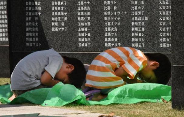 Niños en Japón/AFP