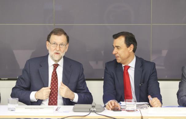 """El PP recuerda al PNV que en los PGE de 2018 se aprueban presupuestos, """"no competencias"""" como SS o Prisiones"""
