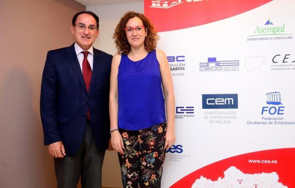 """CEA y CCOO-A apuestan por el diálogo social para salir de """"la alarmante"""" situación de paro"""