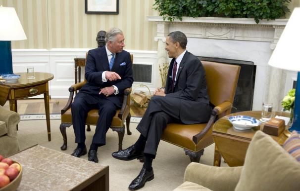 Obama felicita a Carlos de Inglaterra por la boda de su hijo Guillermo