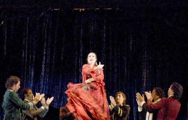 """Cristina Hoyos repone la pieza """"Poema del Cante Jondo"""", de Lorca, en Granada"""