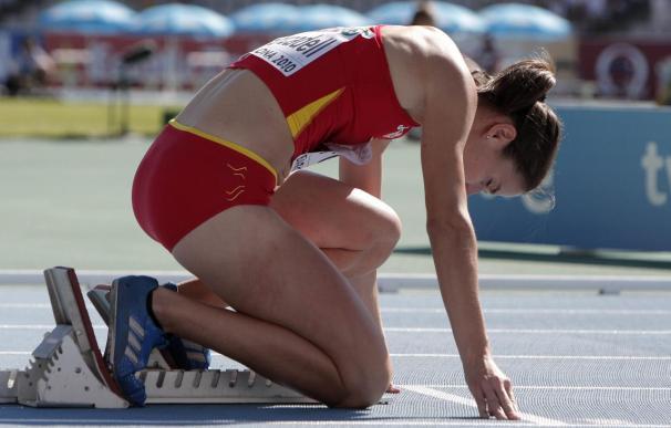 Forcadell eliminada en primera ronda de 400 metros vallas
