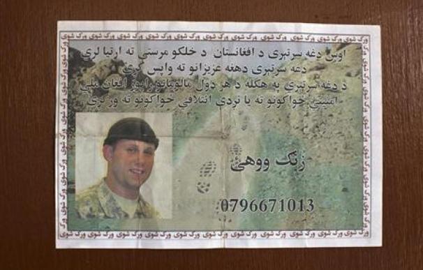 Hallados los restos de un soldado de EEUU desaparecido en Kabul