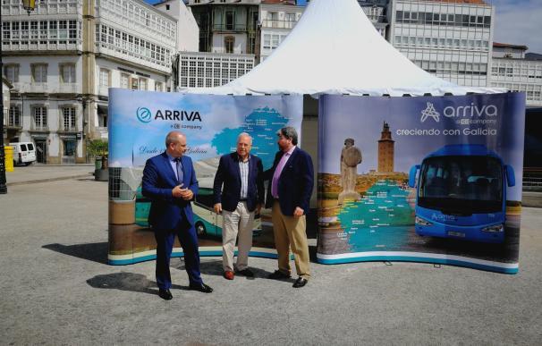"""Arriva aspira a conseguir concesiones en A Coruña y Lugo, pese a su """"disconformidad"""" con la limitación de la Xunta"""