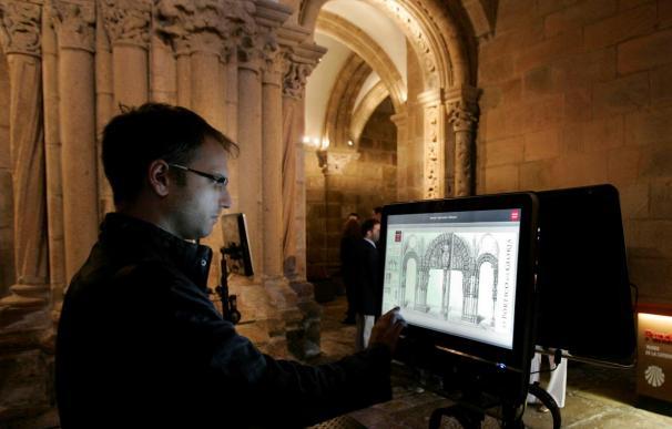 Un programa de visitas virtuales permite conocer el Pórtico de la Gloria en 3D