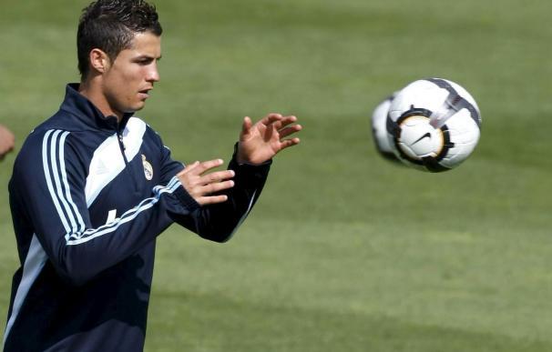 Cristiano Ronaldo regresa antes de tiempo a los entrenamientos