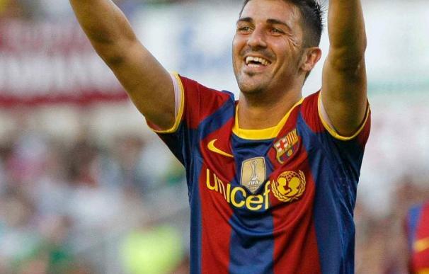 0-3. El Barcelona golea a un Racing que trató de plantarle cara