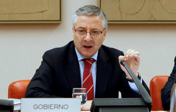 """Blanco dice que la obra pública se recuperará con la """"senda del crecimiento"""""""