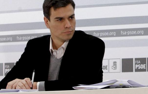 El PSOE pide aplazar la ley de Gobierno Local hasta que mejore la economía