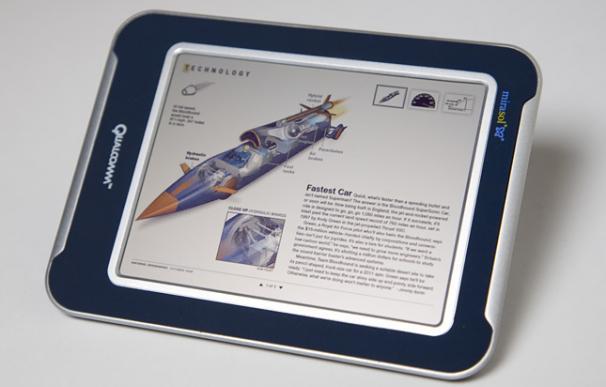 E-Book con pantalla de tecnología Mirasol de Qualcomm