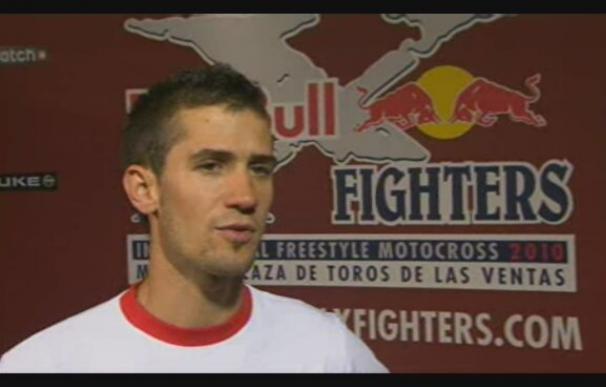 El español Dani Torres, vencedor de la última edición en Madrid del el Red Bull X-Fighter, satisfecho
