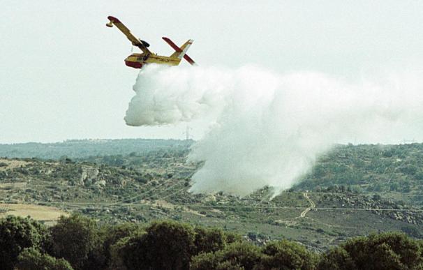 Extinguido un fuego que calcinó 25 hectáreas en Arribes del Duero en Zamora
