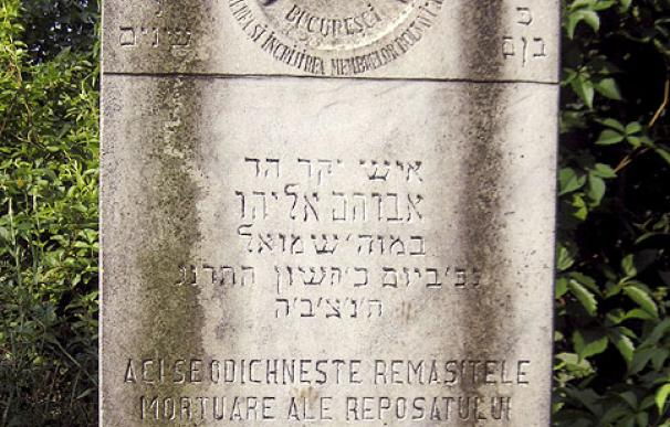 El epitafio del Hitler judío, en el cementerio de la 'Filantropía' - EFE