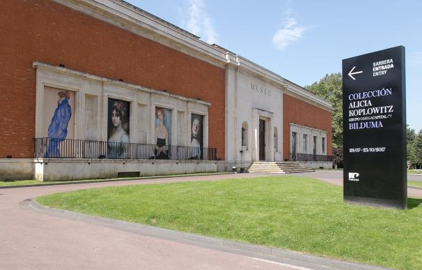 El Bellas Artes de Bilbao abrirá de forma extraordinaria los martes con motivo de la exposición de Alicia Koplowitz