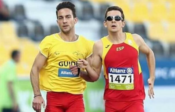 Gerard Descarrega, campeón del mundo en 400 metros T11 del Mundial paralímpico