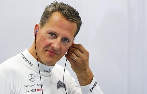 Secretismo y apoyos en el primer aniversario del accidente de Schumacher